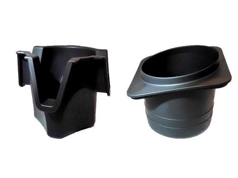 TPV Automotive Cup Holders produced by EM180-SVP3 Injection Molding Machine