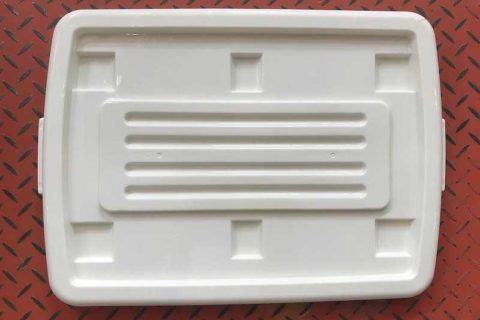 Container Box Lids Produced by ChenHsong EM320-SVP/3 Injection Molding Machine Massively