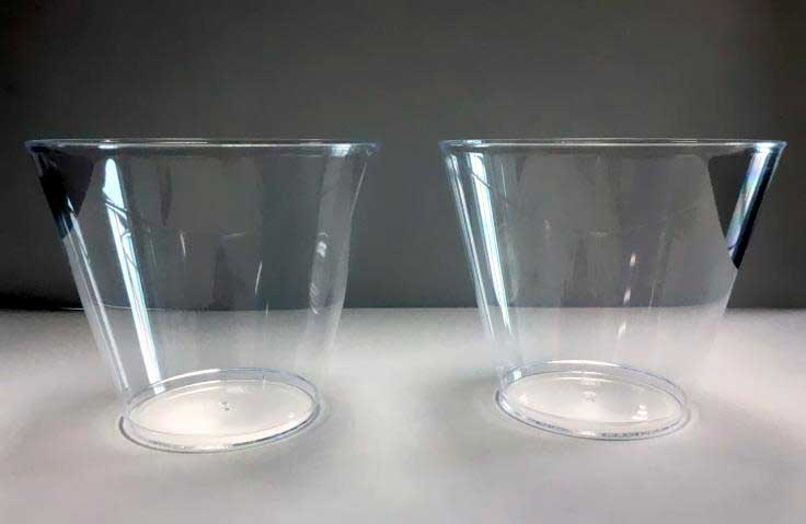 Disposable Cups Produced by ChenHsong SPEED168 Injection Molding Machine
