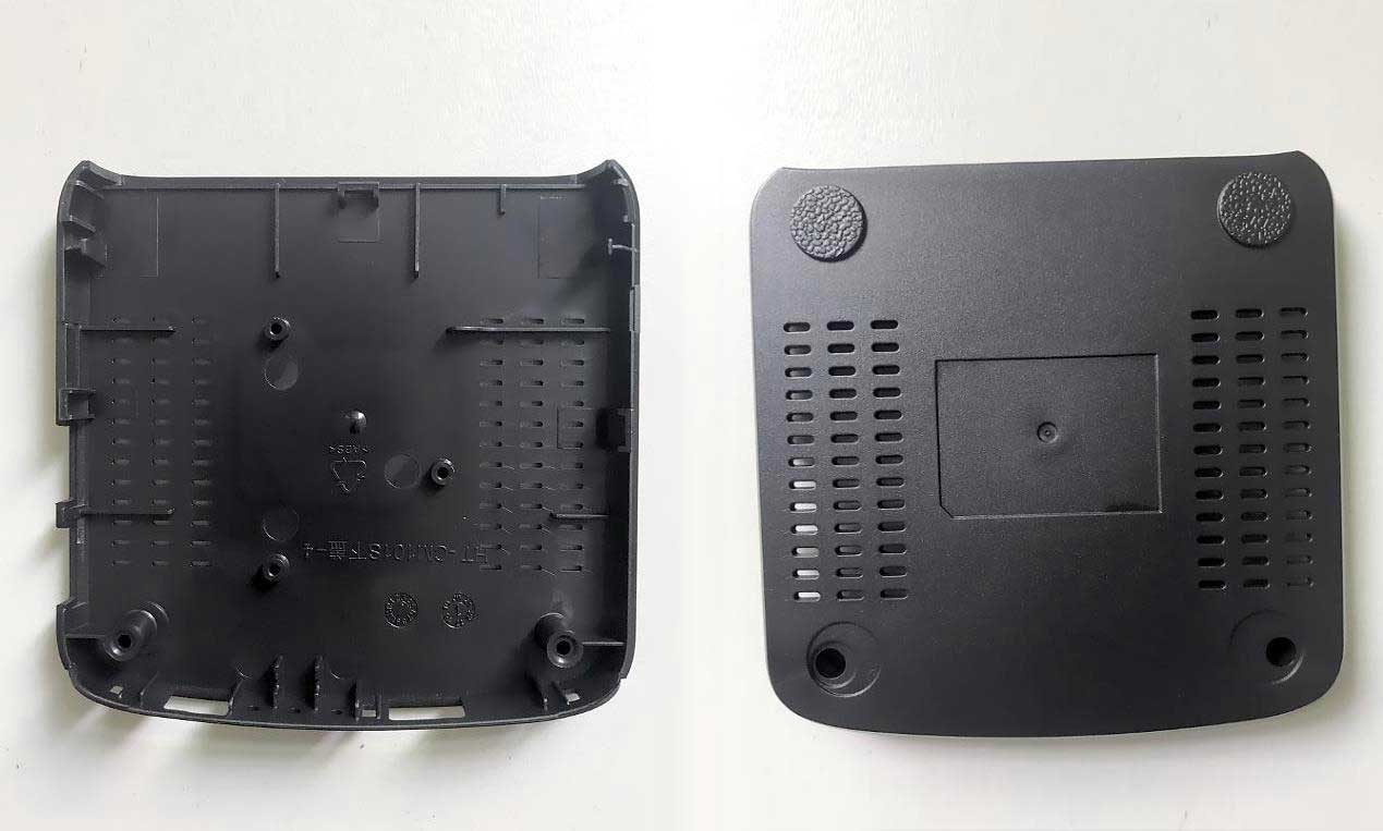 Router Enclosures Produced by JM168-MK6 Injection Molding Machine