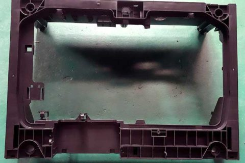 The Appearance of dishwasher base rack produced by JM1200 Injection Molding Machine