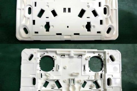 Legrand Electric Wall Plates produced by ChenHsong EM220-SVP/2 Injection Molding Machine
