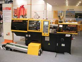 Injection molding machine- MiniJet at ChinaPlas 2014