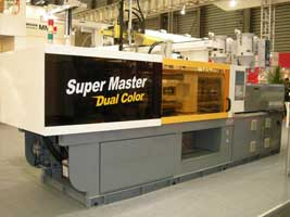 Injection molding machine- SUPERMASTER at ChinaPlas 2014