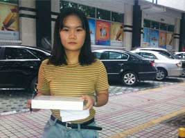 The third winner of ipad at ChinaPlas 2015 Grand Lucky Draw