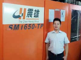 SM1650-TP at ChinaPlas 2015 Grand Lucky Draw