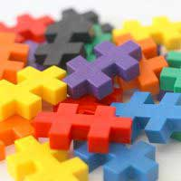the toy bricks from Plus Plus AG