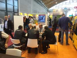 Visitors discussed at Chen Hsong booth in Fakuma-2015