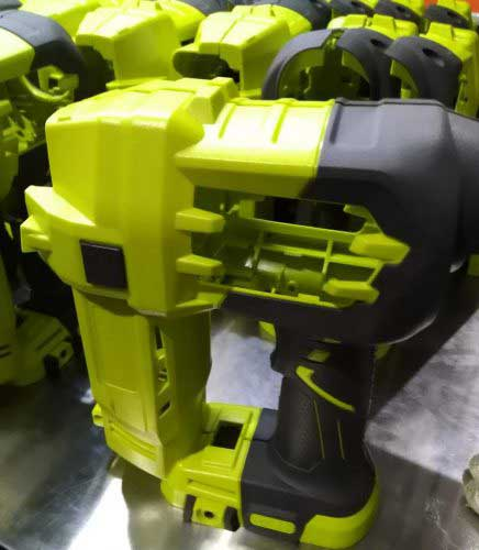 The power tool handle parts from TTI