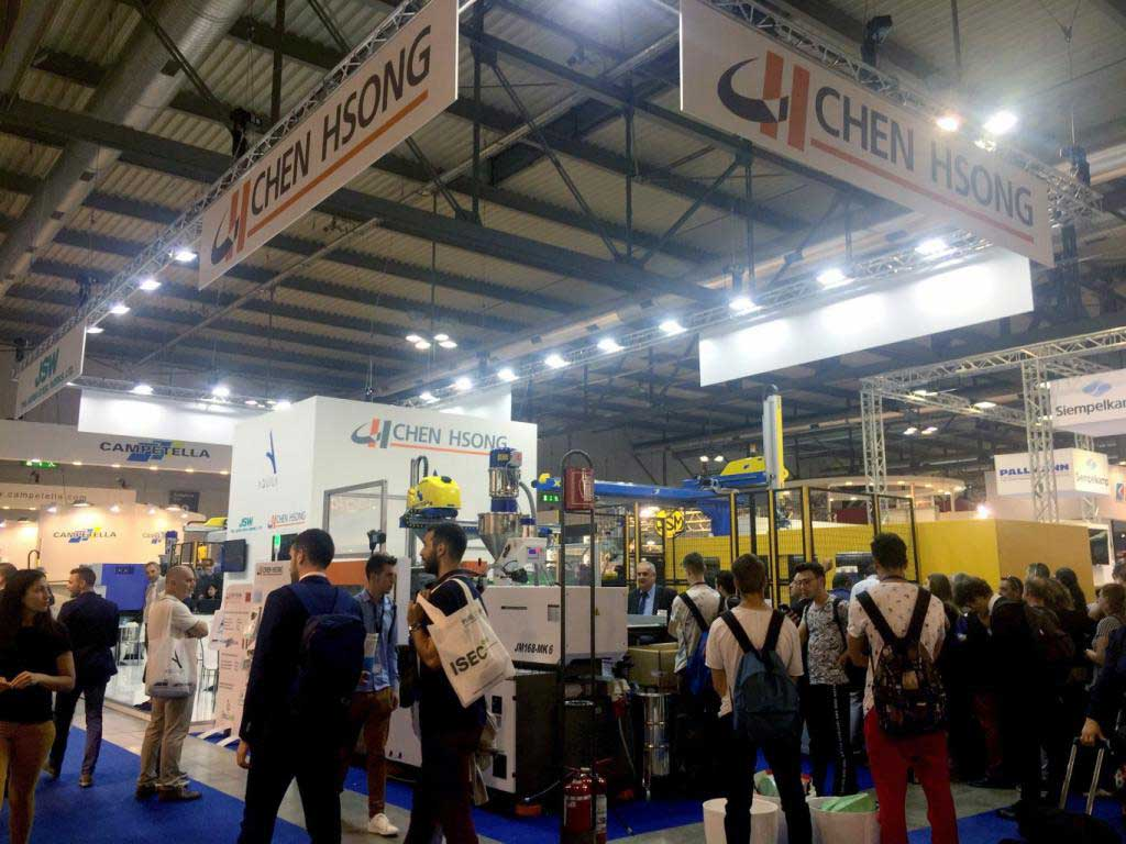 Chen Hsong's booth was very popular in PLAST 2018
