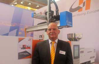 H.L.A. Corbey, General Manager of Chen Hsong Europe.