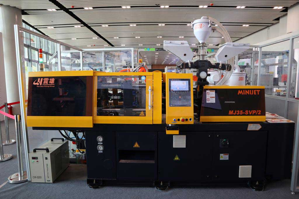 High-precision MJ (Minijet) series injection moulding machine