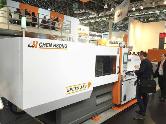 Chen Hsong's injection molding machine - Speed168