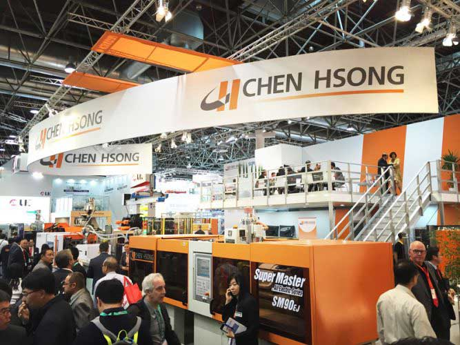 Chen Hsong's booth in K2016
