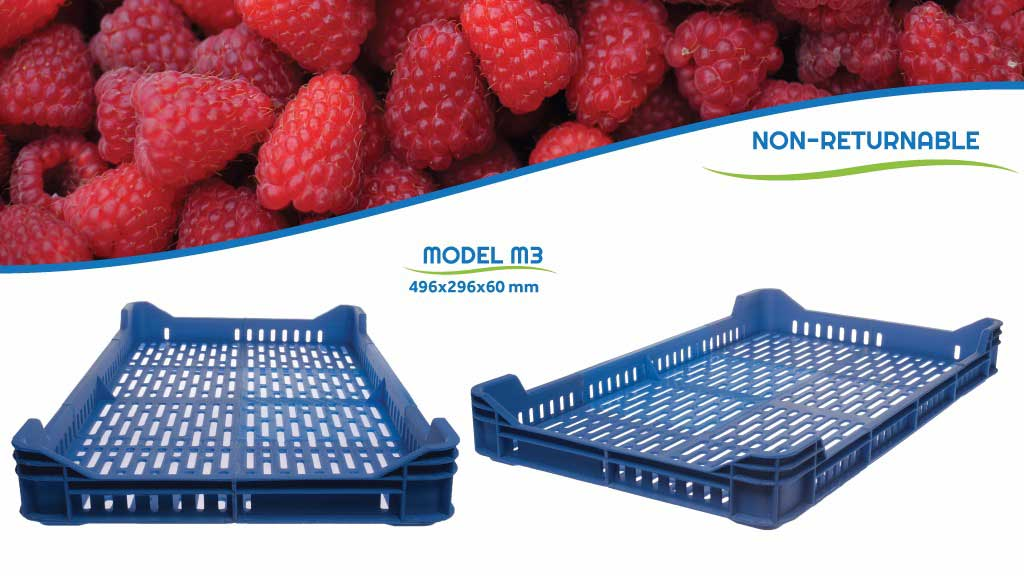 Pollino Plast doo from Simanovci manufacture huge crates for produce.