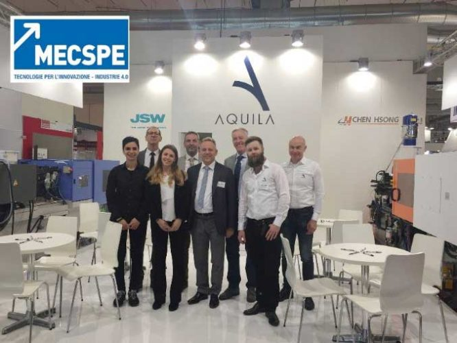 During the three days of MECSPE exhibition, the AQUILA booth was crowded with a lot of customers.