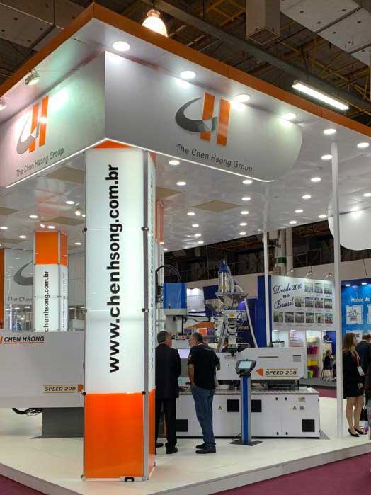 Chen Hsong attended the the largest plastics exhibition in Latin America