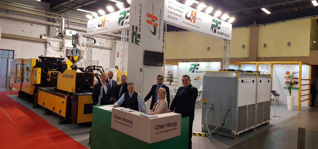 The company P & F WARTACZ, distributor of machines injections of Chen Hsong attended the International Fair of Plastics and Rubber Processing