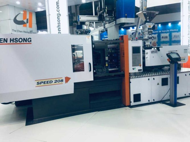 The high-speed servo series, which impressed visitors with its low noise level, precision and extremely high dosing and injection speed above 300mm/s.