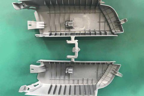 Molding-automotive-C-pillar-decorative-board-backside