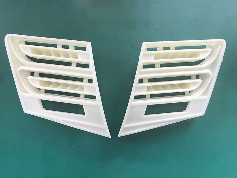 Plastic Mirror Panels are produced by  JM468-MK6 Injection Molding Machine