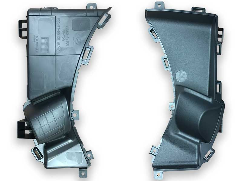 Rear Door Map Pockets Produced by ChenHsong JM650-C3-SVP/2 Injection Molding Machine
