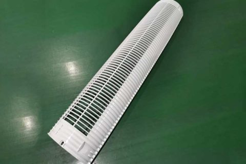 Air conditioner front vent